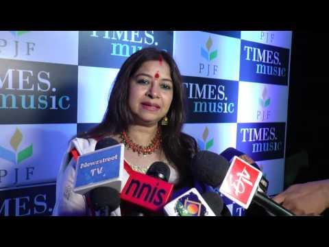 Rekha Bharadwaj interview at the launch of Ravi Sharma's Moonlight Whispers music album