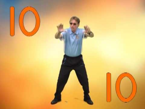 Count by 10s and Exercise | Count to 100 | Jack Hartmann