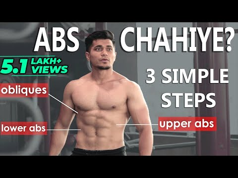 How To Get Abs In Hindi | Diet and Workout