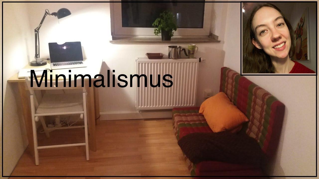 Minimalismus roomtour konsumwahn vs freiheit for Youtube minimalismus