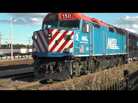 Waukegan Metra Station & UP Yard Revisited July 2014