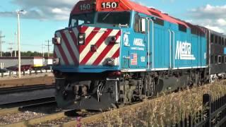 Waukegan Metra Station & UP Yard Revisited July 2014