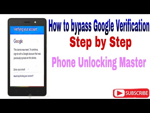 Techno WX3P Google Verification/Remove Frp/Bypass Google