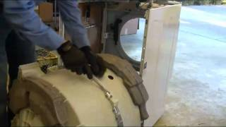 Repair HE3 Washing Machine Bearing Noise