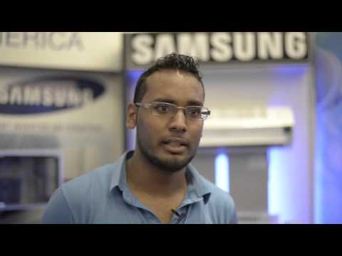 Samsung at The National Ozone Unit of Trinidad and Tobago  Trade Show