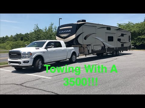 2019 RAM 3500 Mega Cab Towing Test - Does It Really Tow Better then a RAM 2500?!?!?!?!