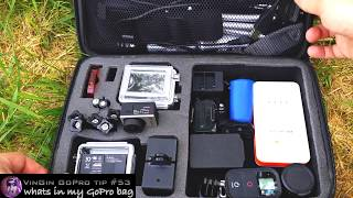 GoPro Tip #53 Whats in my GoPro bag (4K)
