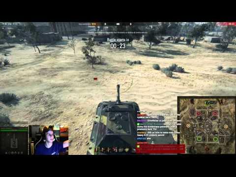 World of Tanks CZ - Záznam streamu z Test serveru 10.0 (první test)