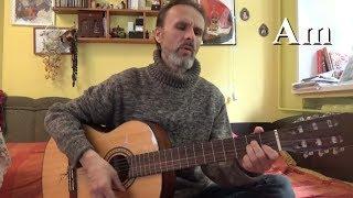 """Сплин, """"Бездыханная легкость"""", кавер на гитаре"""
