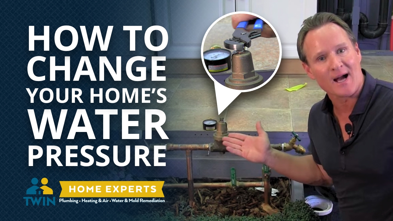 how to change water pressure to your home - youtube