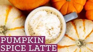 Healthy Pumpkin Spice Latte - Starbucks DIY - Mind Over Munch Episode 34