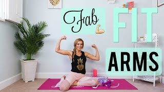 Fab Fit ARMS WORKOUT + Fitness Unboxing!