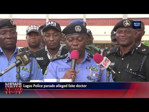 Lagos police parade alleged fake doctor