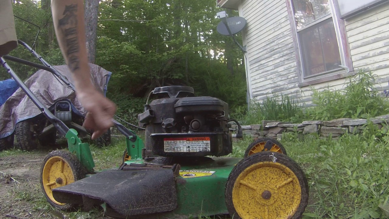 Seafoam In A Push Mower