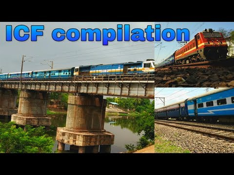 pure-icf-aggression---beautiful-track-sound-of-icf-coaches-&-their-service-in-indian-railways