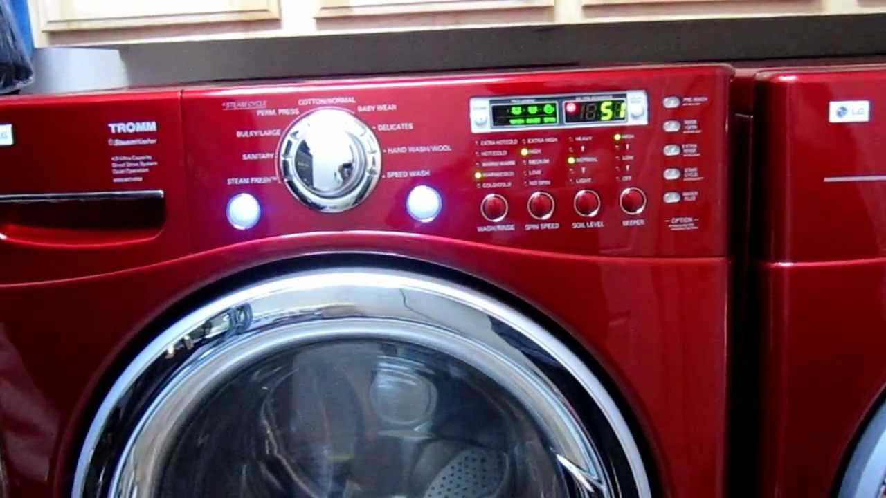 Lg Front Load Washer And Dryer For Sale Youtube