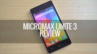 Micromax Unite 3 (Q372) Review | Techniqued