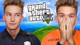 GTA V Policja #14 - SŁUŻBA WIĘZIENNA!