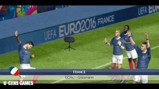 FTS15 Mod UEFA EURO 2016 France v Romania