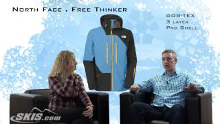 2014 North Face Free Thinker Mens Jacket Overview by SkisDOTcom