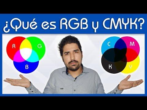 Que es RGB - CMYK y cuando usarlos - Dostin Hurtado