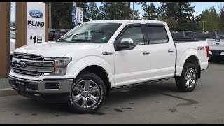 2018 Ford F-150 Lariat FX4 Chrome EcoBoost Supercrew Review   - Island Ford