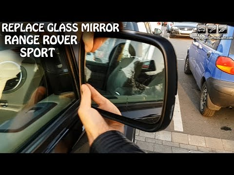 FITS RANGE ROVER SPORT 2005-2009 REPLACEMENT DOOR WING MIRROR GLASS RIGHT SIDE