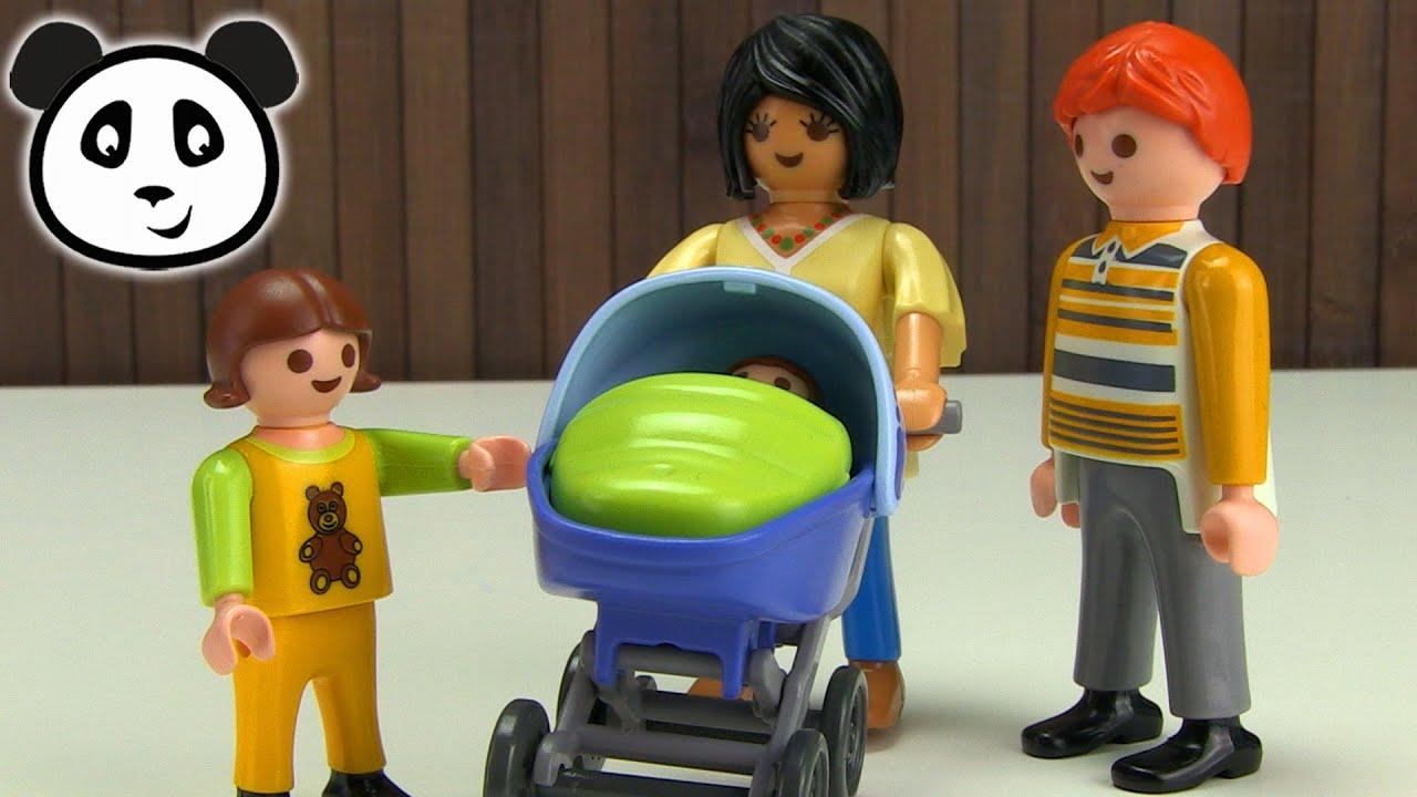 Playmobil kinderwagen spielzeug ausgepackt angespielt