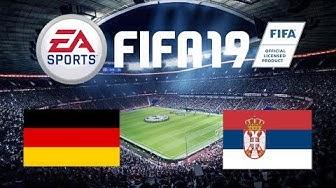 Deutschland vs. Serbien - DFB-Team FIT für die EM? I FIFA 19 Prediction #02 I rusch2000