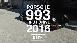 Porsche 993 First Drive 2016 | EP001