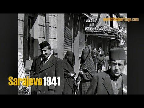 Sarajevo 1941 - rare footage filmed by a german Wehrmacht soldier