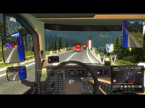 ETS 2 REPORT RECKLESS DRIVING X2