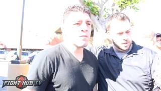 Nick Diaz on fighting Conor McGregor