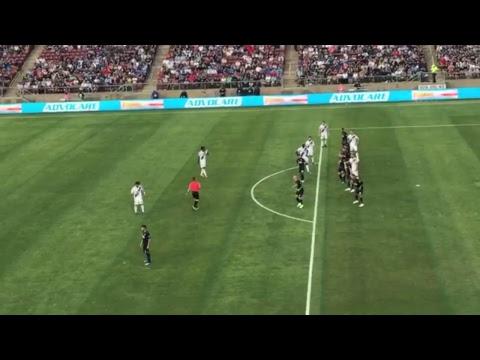 Match-day soccer at Stanford LA Galaxy with Zlatan Ibrahimovic  vs San Jose Quakes