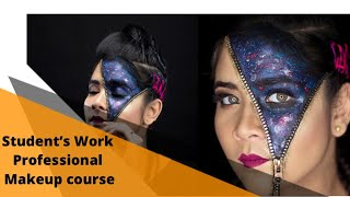 Time Machine Academy, Student's Work ( Professional Makeup course)
