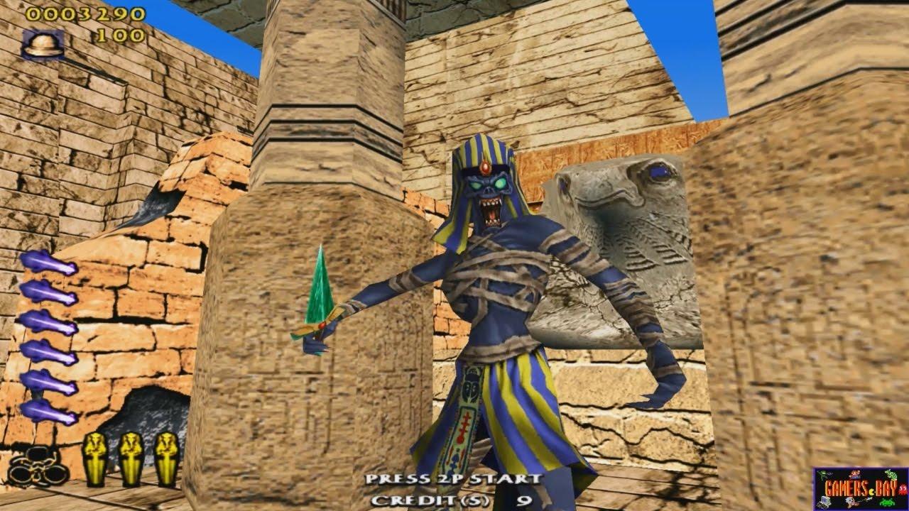 The Maze of The Kings - Arcade Rail Shooter (Sega NAOMI - 2002)