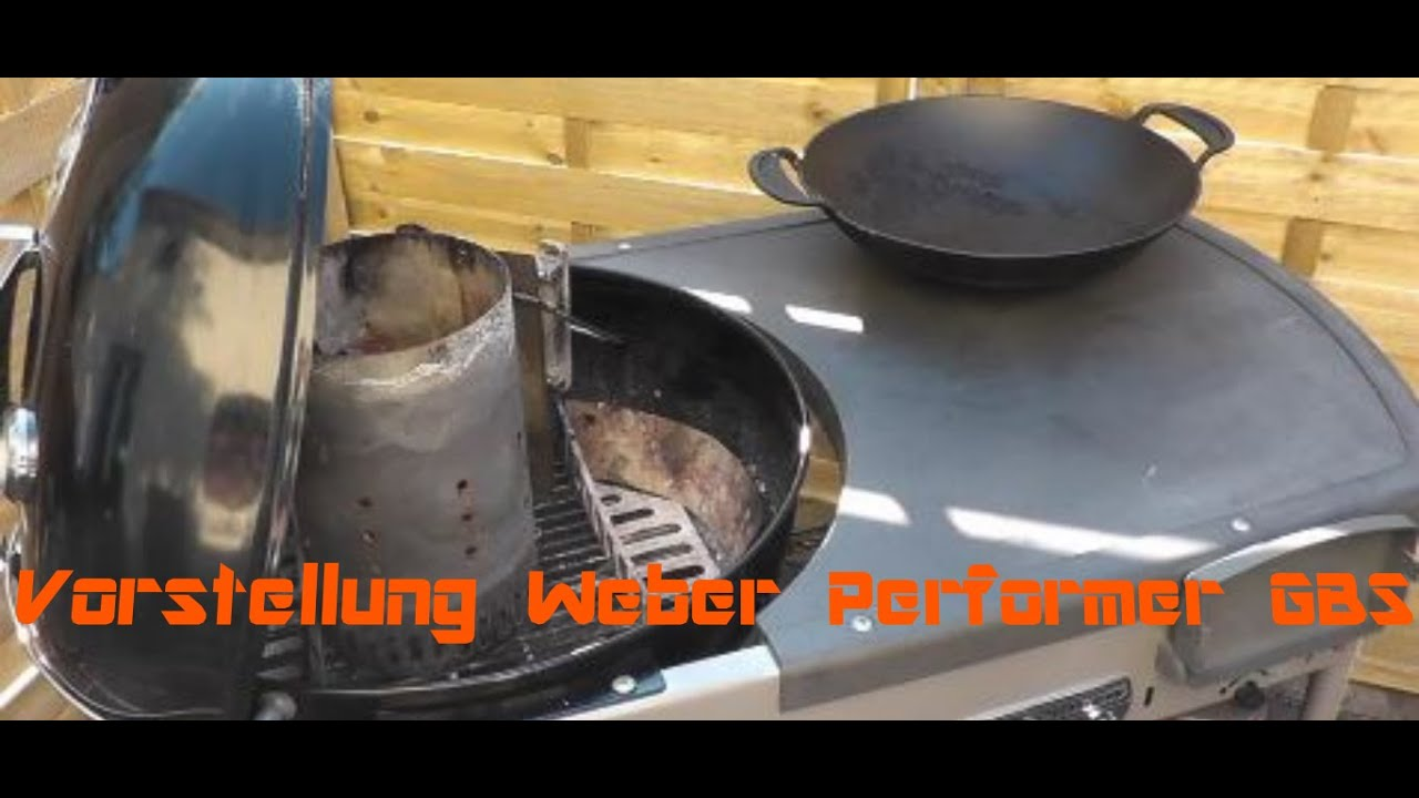 Weber Grill Holzkohlegrill Performer Deluxe Gbs Gourmet : Vorstellung weber performer gbs youtube
