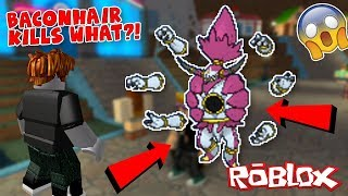 Baconhair Kills THIS LEGENDARY In Roblox (Pokemon Brick Bronze Limiter Challenge #2)