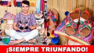 Joven Triunfa En Alemania Dando a Conocer Huaraches Mexicanos // El Nopal News #915