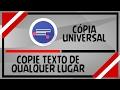 Tutorial- Como Copiar Textos De Qualquer Aplicativo ...