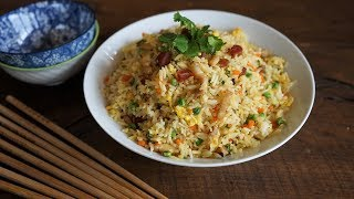 How to make Traditional Cantonese Fried Rice - Morgane Recipes