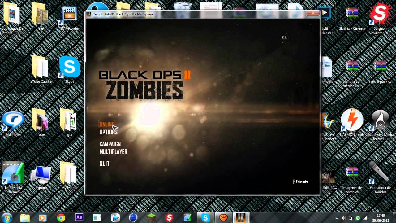 Cerrado Como Descargar Call Of Duty Black Ops 2 Gratis Pc Full 1 Link Pirata Online Zombies Youtube