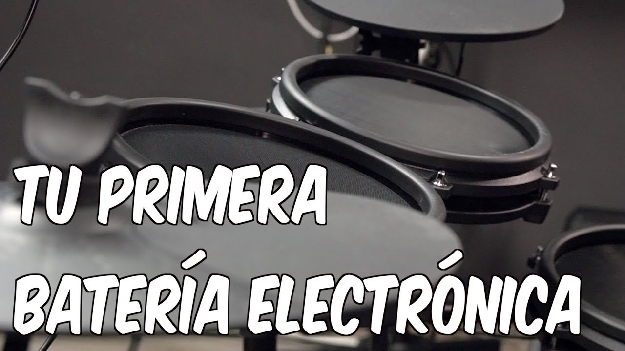 Tu Primera Batería Electrónica Alesis Nitro Mesh Kit