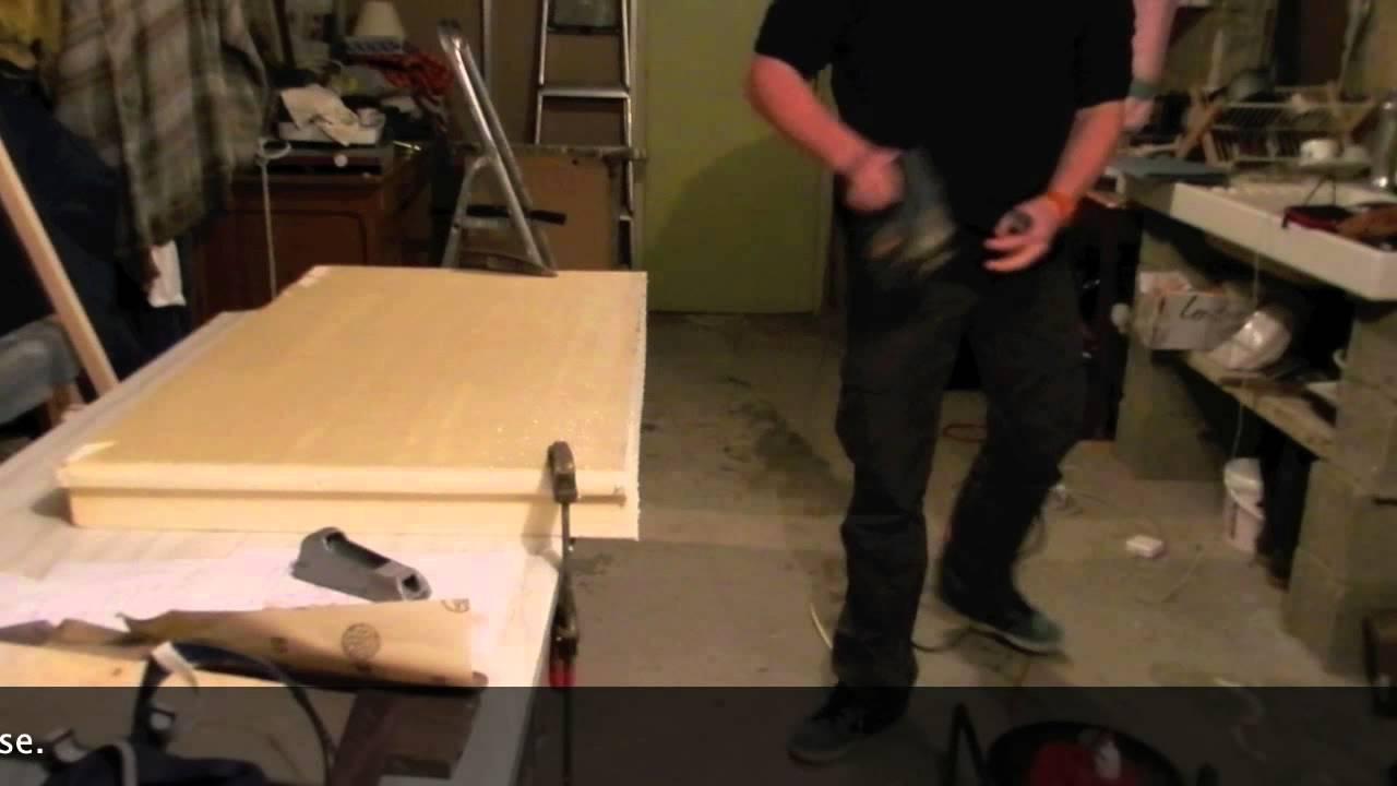 shape de votre planche de chasse sous marine 2 3 youtube. Black Bedroom Furniture Sets. Home Design Ideas