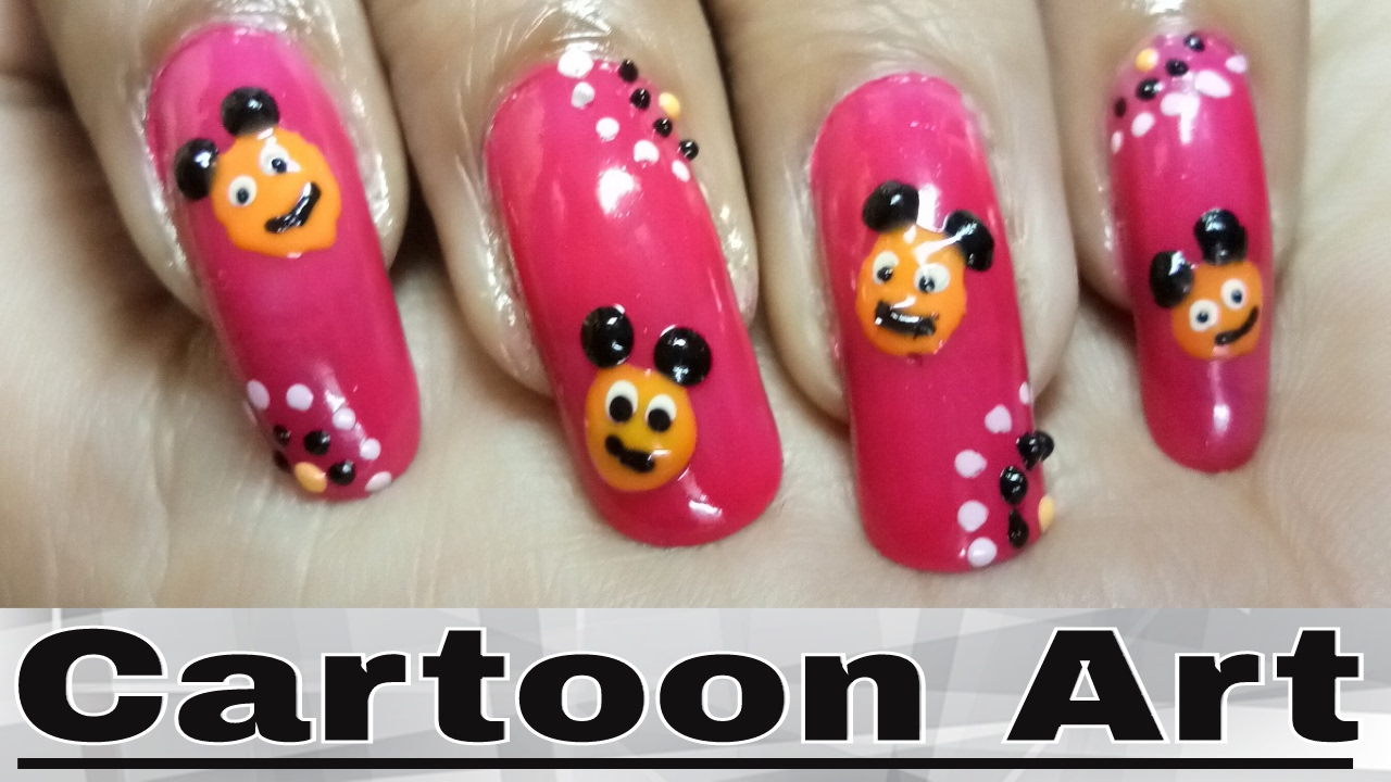 Cute Nail Art Designs Step By Step