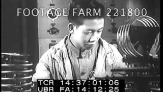 1944, Chinese Shipbuilding & Military Radio Factory 221800-04 | Footage Farm