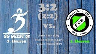 Highlights SG Geest 05 II vs. FC Burg - 06.11.2016