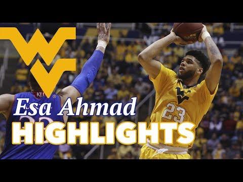Esa Ahmad West Virginia Offense Highlights Montage 2016/17 - WVU\'s Next Lottery Pick