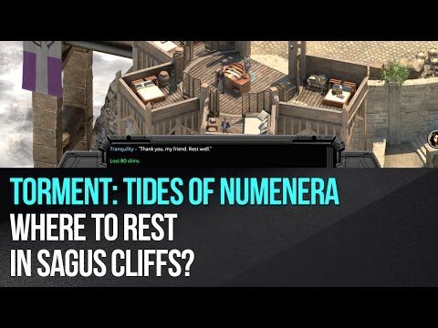 Torment: Tides of Numenera - Where to rest in Sagus Cliffs?