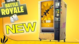 ON PASSE IN SEVERAL SPOTS OF AUTOMATIC DISTRIBUTORS! (Fortnite: Battle Royale)
